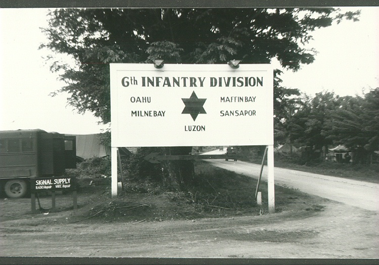 114_Korea_Sixth_Division_sign