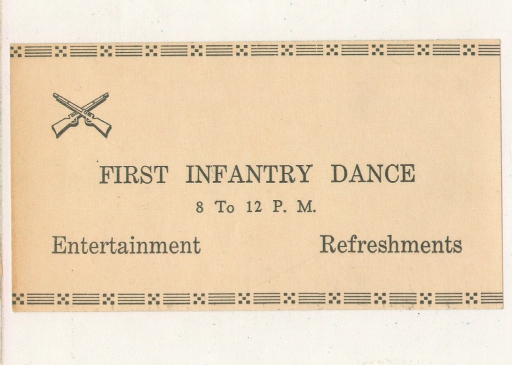 16_Camp_San_Luis_Obispo_Ticket_to_First_Infantry_Dance