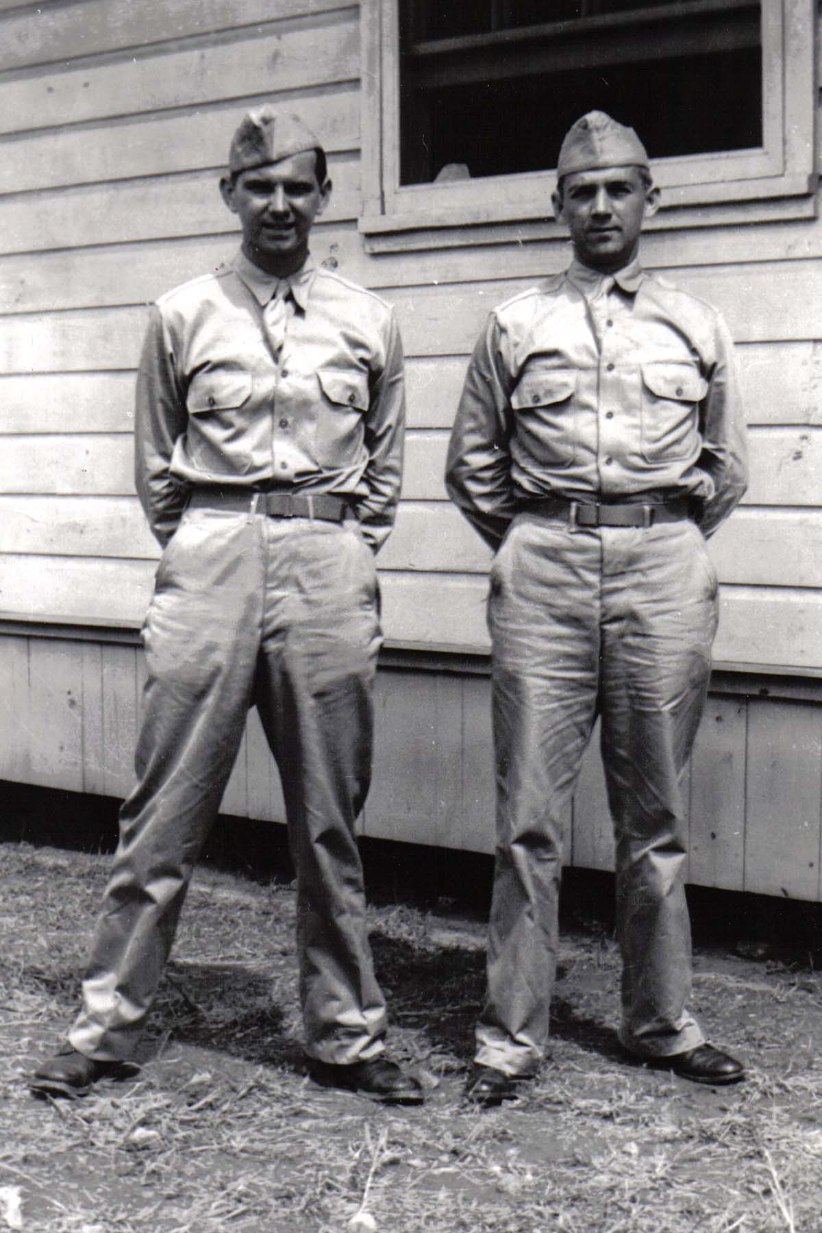 A01 Ft_ Leonard Wood_ MO - Lou Murrin and Tom Fallen - August 1942