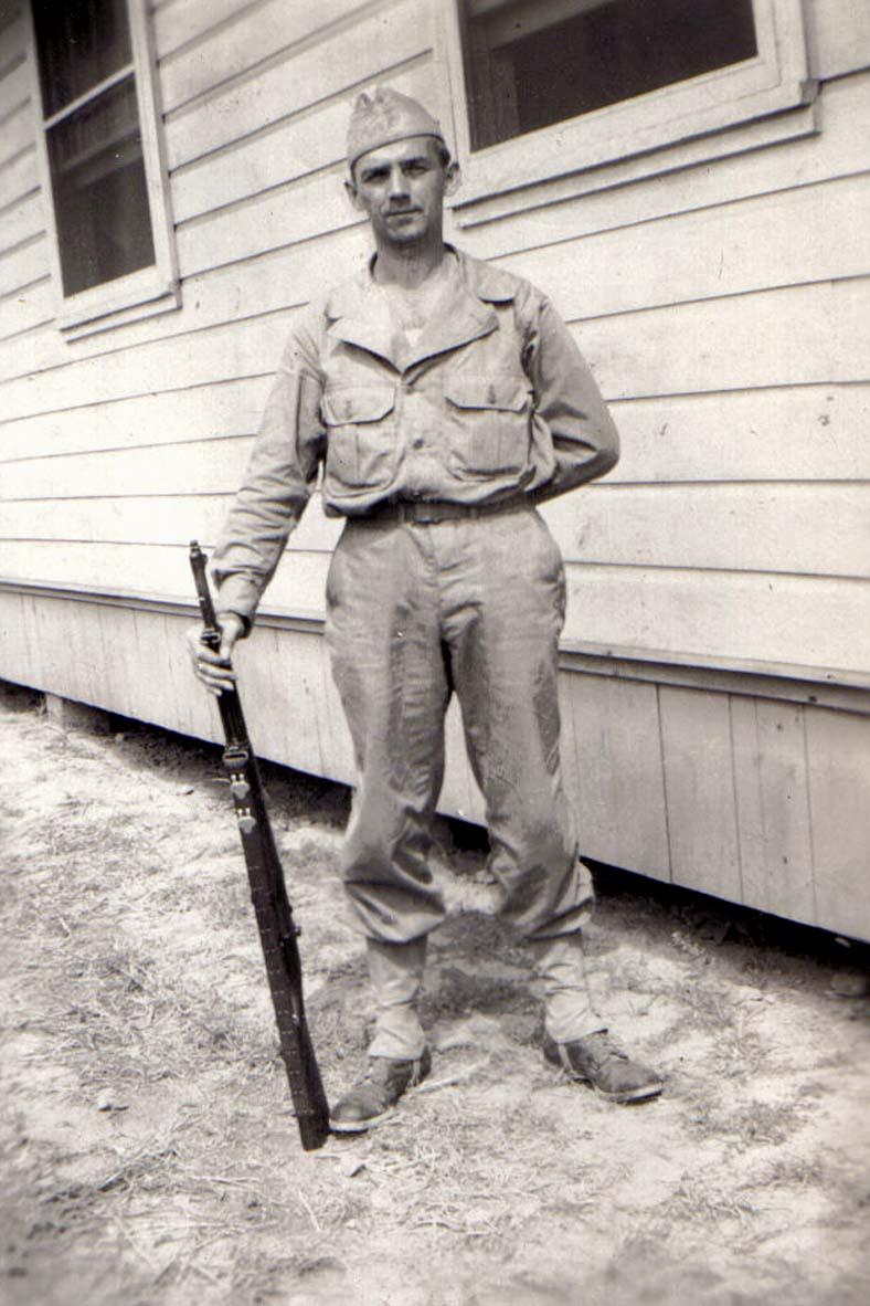 A05 Ft_ Leonard Wood_ MO - Tom in basic training