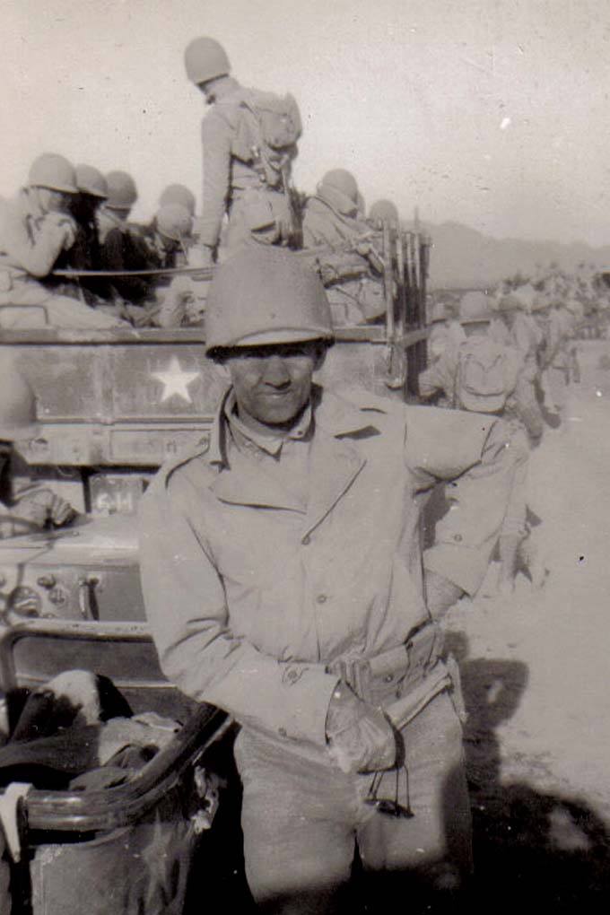 B27 Camp Young_ CA - Tom Fallen taking a break after driving through a dust storm