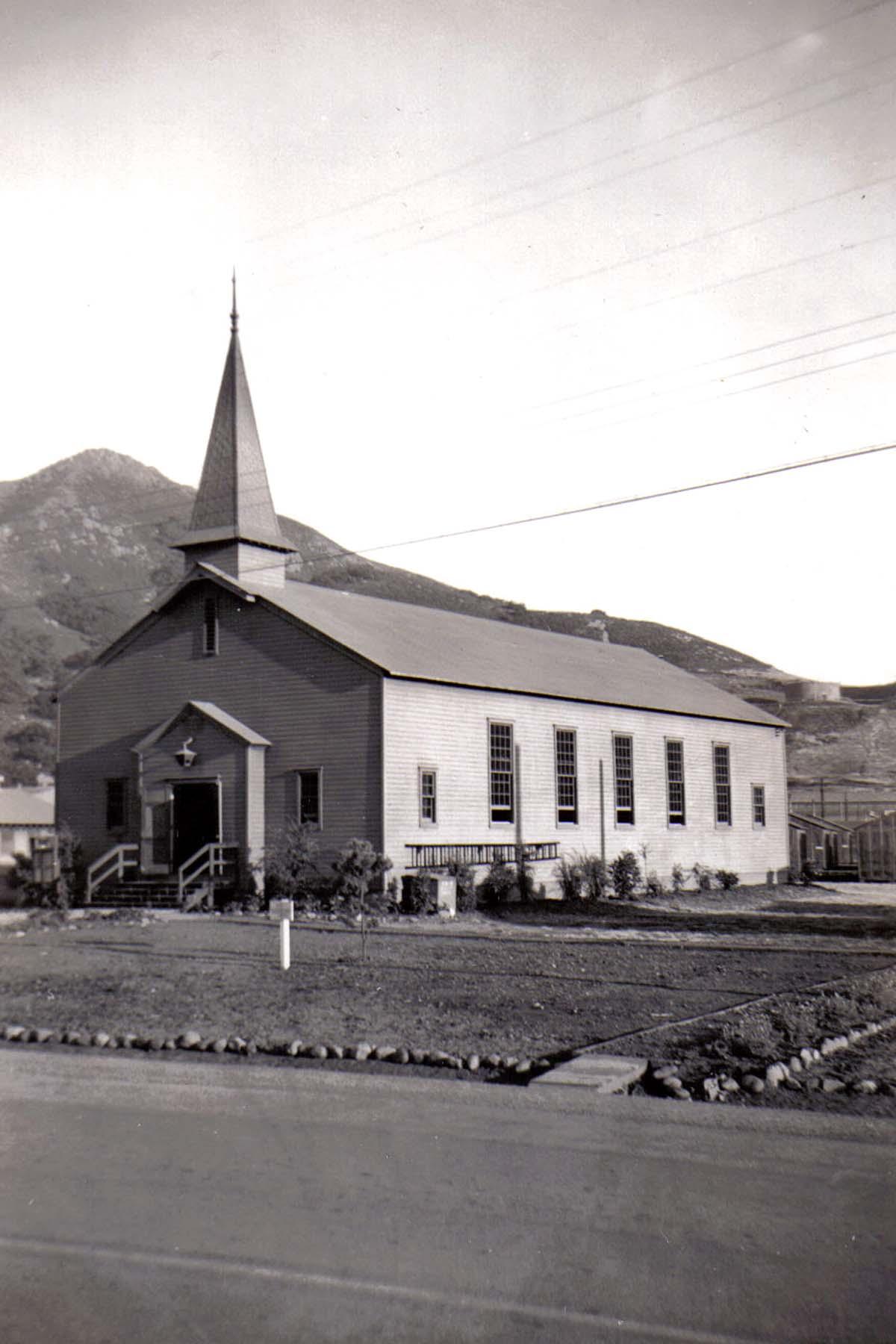 C01 Camp San Luis Obispo - Our chapel