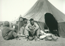 02_Camp_Young_CA_Listening_to_the_Rose_Bowl_Game_January_1943