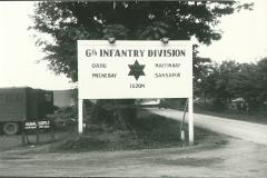 114_Korea_Sixth_Division_sign