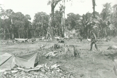 55_Maffin_Bay_View_facing_the_jungle_note_shell_going_off_at_the_treeline