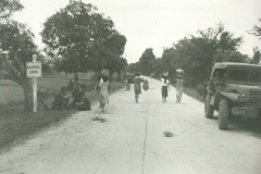 78_Luzon_The_first_paved_road_the_infantrymen_had_seen_in_a_year