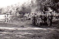A16 Ft_ Leonard Wood_ MO - Fires in the rear of firing line on range - firing line is to left of picture