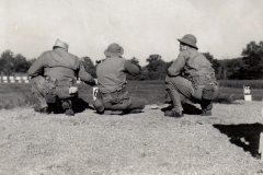 A30 Ft_ Leonard Wood_ MO - Tom Fallen firing from kneeling position with Lt_ Hayden coaching