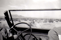 B37 Camp Young_ CA - View of the desert