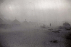 B41 Camp Young_ CA - Dust storm