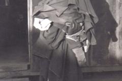 C09 Camp San Luis Obispo - Earl Miller has his clothes stencilled