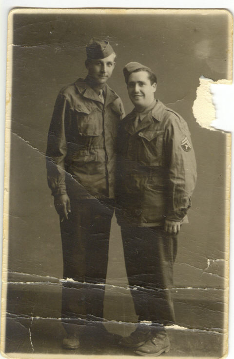 George_Jack_Emelander_Co_B_63rd_Inf_Reg_in_Korea_with_unidentified_comrade