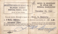 D01_Tom_Fallen_Selective_Service_notice_to_appear_for_physical_examination