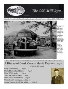 Old Mill Run Newsletter Cover
