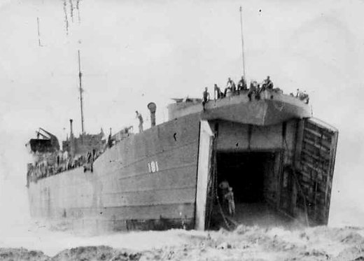6th Division Amphibious Landings